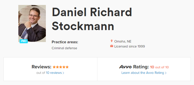 stockmann-avvo-profile